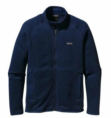 Patagonia Mens Better Sweater Jacket Channel Blue (Spring 2014)