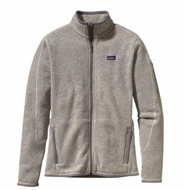 Patagonia Womens Better Sweater Jacket Natural with Feather Grey (Spring 2014)