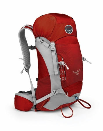 Osprey Kestrel 28 Fire Red