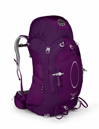 Osprey Womens Aura 65 Eggplant Purple