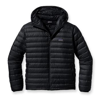 Patagonia Mens Down Sweater Full-Zip Hoody Black (Autumn 2013)