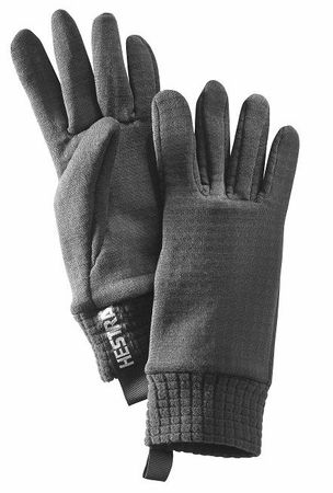 Hestra Polartec Power Dry Waffled Black