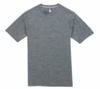 Ibex Mens OD Heather Tee Stone Grey Heather (Spring 2013)