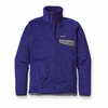 Patagonia Womens Re-Tool Snap-T Harvest Moon Blue: Channel Blue X-Dye (Autumn 2012)