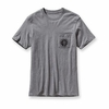 Patagonia Mens Pocket GPIW Equipment T-Shirt Gravel Heather (Close Out)