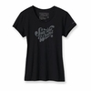 Patagonia Womens Save the Waves Text T-Shirt Black (Spring 2012)