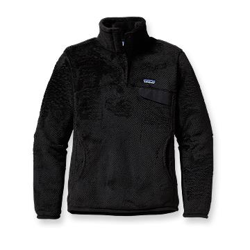 Patagonia Womens Re-Tool Snap-T Pullover Black (Autumn 2013)