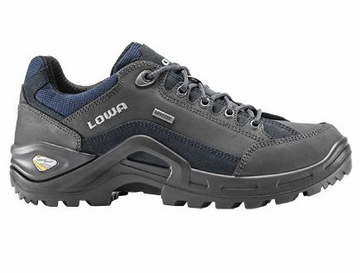 Lowa Mens Renegade II GTX Lo Dark Grey/ Navy (Close Out)