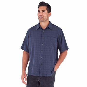 Royal Robbins Mens San Juan Short Sleeve Shirt Eclipse (Spring 2012)