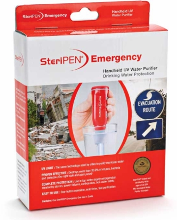 SteriPEN Emergency Retail Pack