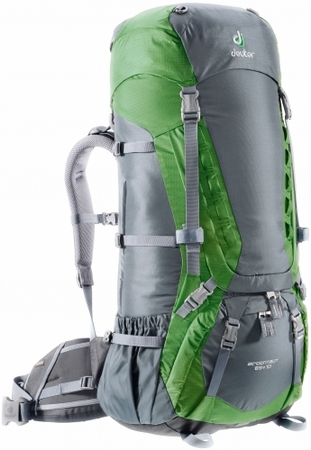 Deuter Aircontact 65+10 Granite/ Emerald