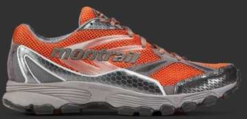 Montrail Mens Badrock Burnt Orange/ Titanium (Close Out)