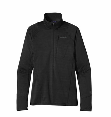 Patagonia Mens R1 Pullover Black (Autumn 2013)