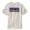 Patagonia Mens P-6 Logo T-Shirt White (Autumn 2013)