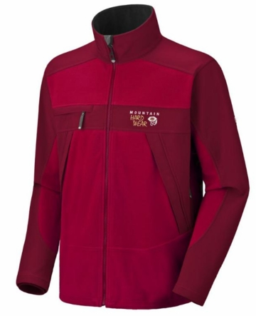 Mountain Hardwear Mens Windstopper Tech Jacket Red/Lava (Close Out)