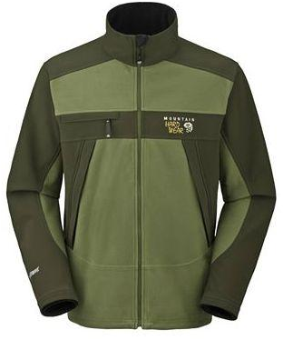 Mountain Hardwear Mens Windstopper Tech Jacket Cypress (Close Out)