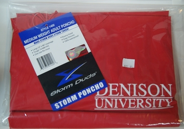 Denison Adult Rain Poncho