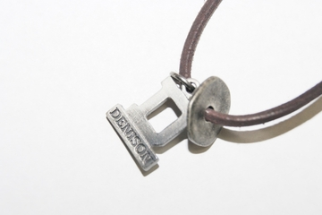 Denison Leather Cord Necklace