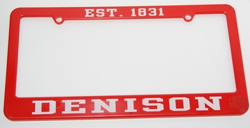 Denison License Plate Holder