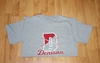 Denison University Champion Golf Tee Grey