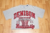 Denison Basketball Tee Grey