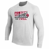 Denison Under Armour Protect This House Long Sleeve White