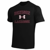 Denison Under Armour Lacrosse Short Sleeve Black