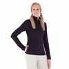 Royal Robbins Womens Mountain Velvet 1/4 Zip Jet Black (Autumn 2012)