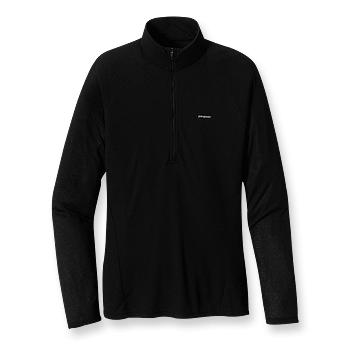 Patagonia Mens Capilene 2 Lightweight Zip-Neck Black (Close Out)