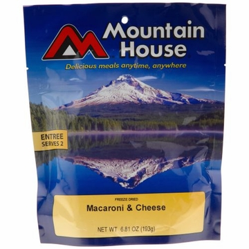 Mountain House Macaroni and Cheese- Serves 2
