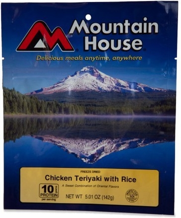Mountain House Chicken Teriyaki with Rice- Serves 2
