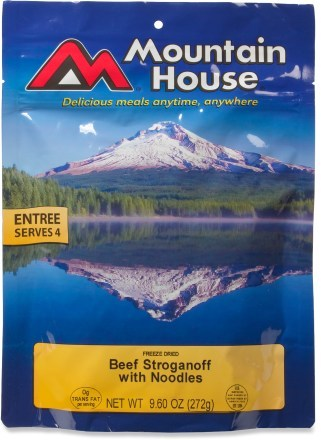Mountain House Beef Stroganoff with Noodles- Serves 4