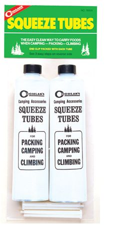 Clear Squeeze Tubes