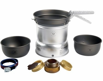 Trangia 27-7 Ultralight ALC Stove Kit Hard Anodized