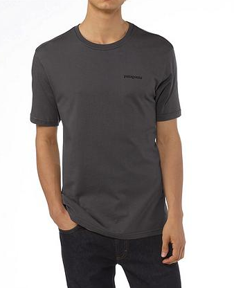 Patagonia Mens P-6 Logo T-Shirt Forge Grey (Autumn 2013)