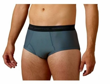 ExOfficio Mens Give-N-Go Brief Charcoal XXL