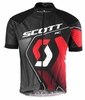 Scott Mens RC Pro Short Sleeve Shirt Black/ Red