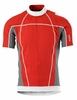 Scott Mens Helium Top Short Sleeve Red