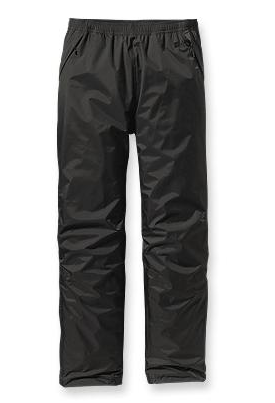 Patagonia Mens Torrentshell Pants Black