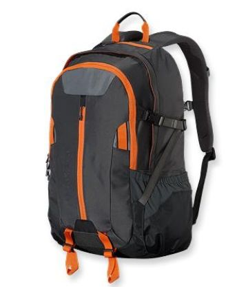 Patagonia Refugio Pack 28L Forge Grey with Turmeric Orange (Autumn 2013)