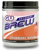 GU Recovery Brew Strawberry Watermelon Canister