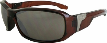 Julbo Zulu Polarized 3 Crystal Brown/ Turquoise