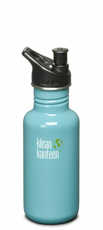 Klean Kanteen 18oz Sport Cap Bottle Reef