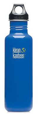 Klean Kanteen 27oz Loop Top Bottle Blue