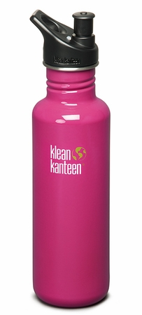 Klean Kanteen 27oz Sport Cap Bottle Active Pink
