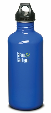 Klean Kanteen 40oz Loop Top Bottle Blue