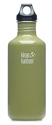 Klean Kanteen 40oz Loop Top Bottle Green