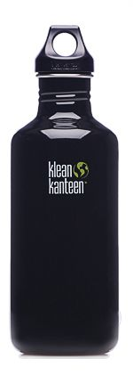 Klean Kanteen 40oz Loop Top Bottle Black Eclipse