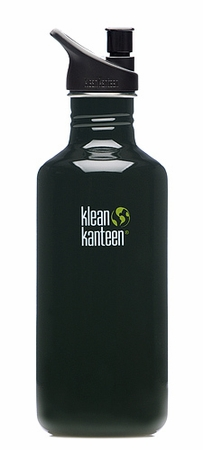 Klean Kanteen 40oz Sport Cap Bottle Black