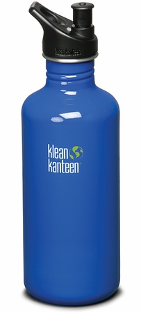 Klean Kanteen 40oz Sport Cap Bottle Blue